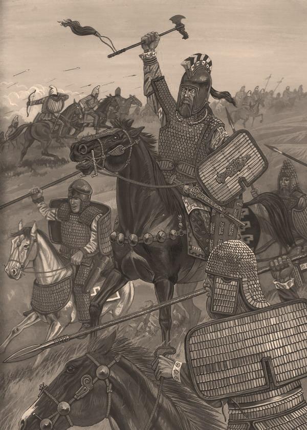 Скифский воин 462 РТОловянные солдатики наборы оловянных